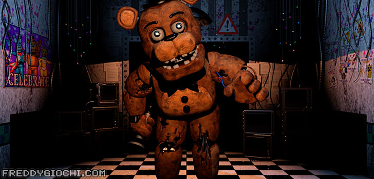 Freddy Fazbear di Five Nights at Freddy's 2